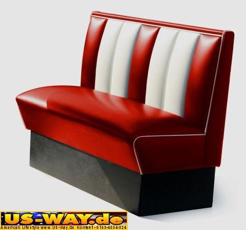kuchenmobel usa : USA Bel Air Diner M?bel Dinerbank K?chenm?bel US Style eBay