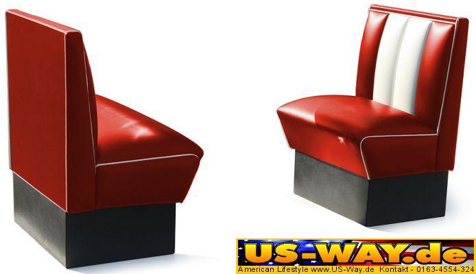 kuchenmobel usa : Details about USA Bel Air Diner M?bel Dinerbank K?chenm?bel US ...