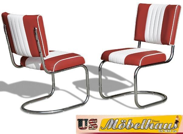 Esstisch Diner Style ~ TO19 Bel Air Diner Tisch Küchentisch Esstisch Fifties Style Retro 50er Jahre