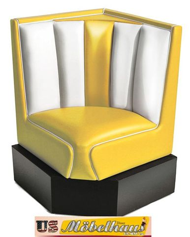hw 120 amerikanische m bel dinerbank sitzbank diner b nke usa style gastronomie ebay. Black Bedroom Furniture Sets. Home Design Ideas