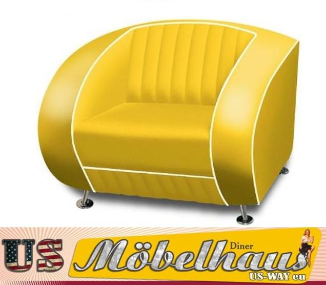 g63 bel air fifties style designer sofa wohnzimmer sessel retro usa 50er jahre ebay. Black Bedroom Furniture Sets. Home Design Ideas