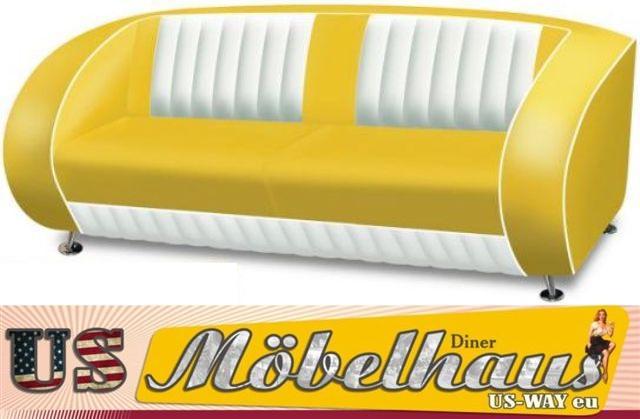 TO20 Bel Air Diner Tisch Küchentisch Esstisch Fifties  ~ Esstisch Yellow