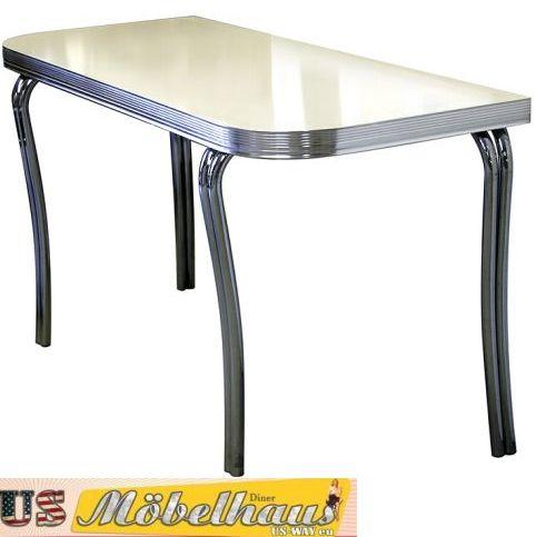 TO 28 Bel Air Diner Küchentisch Konferenztisch mit 6