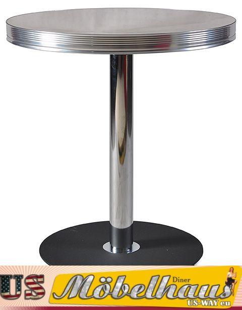 Esstisch Retro Style ~ TO21 Bel Air Diner Tisch Stehtisch Esstisch Fifties Style Retro 50er Jahre U