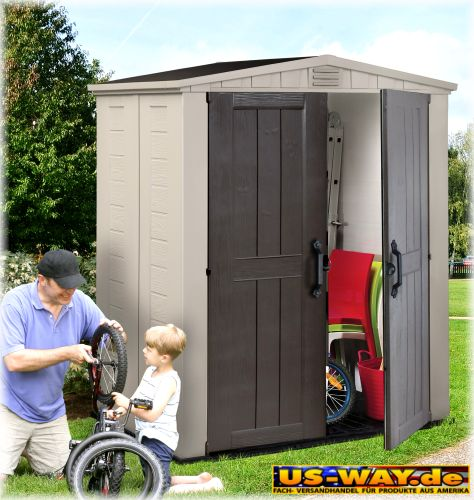 Keter factor 6 x 3 storage shed