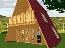 bezahlbares wohnhaus holzhaus blockhaus ferienhaus ebay. Black Bedroom Furniture Sets. Home Design Ideas
