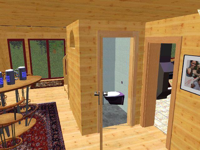 nurdach ferien blockhaus finnh tte. Black Bedroom Furniture Sets. Home Design Ideas