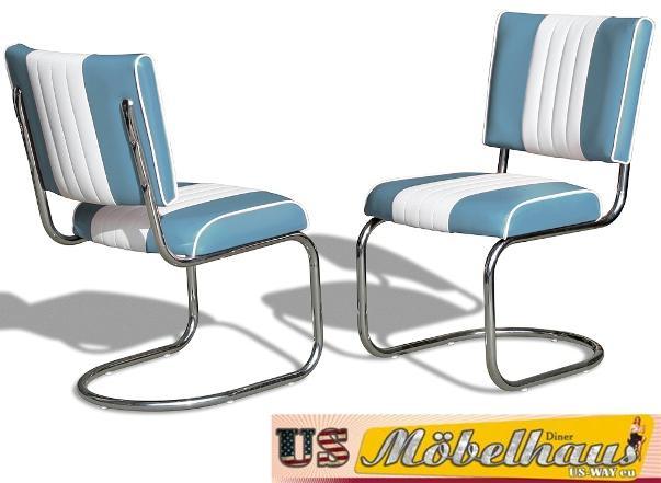Sedie Blu Cucina : Co blu bel air mobili stühle swingstuhl diner cucina sedia da