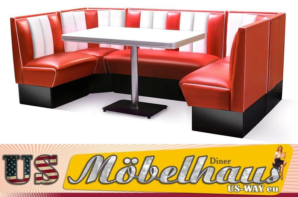 HW-120/120-R American Furniture Diner Bench Corner Seat Diner ...