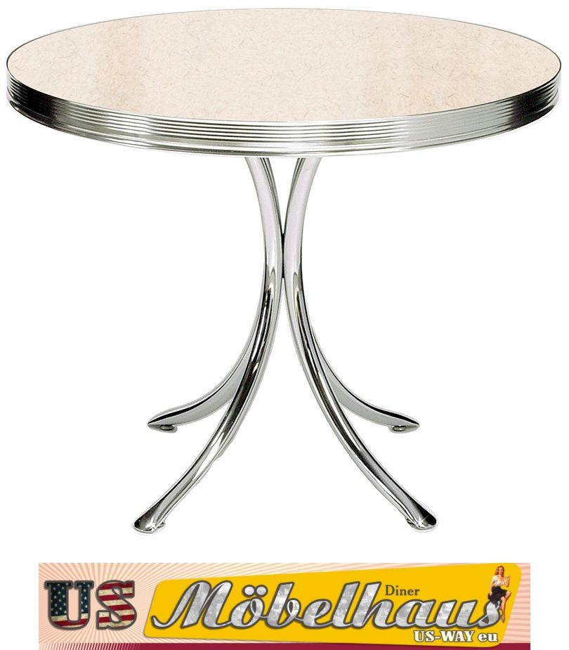TO-19a Bel Air Diner Tisch Küchentisch Esstisch Fifties