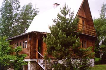 Nurdach Ferien Blockhaus Finnhutte
