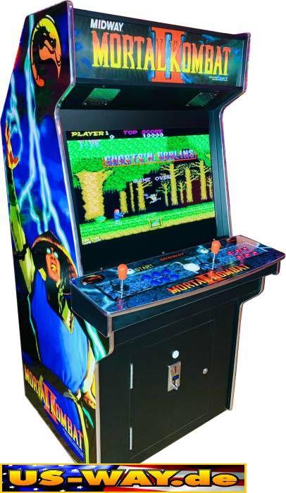arcade spielautomat joystick
